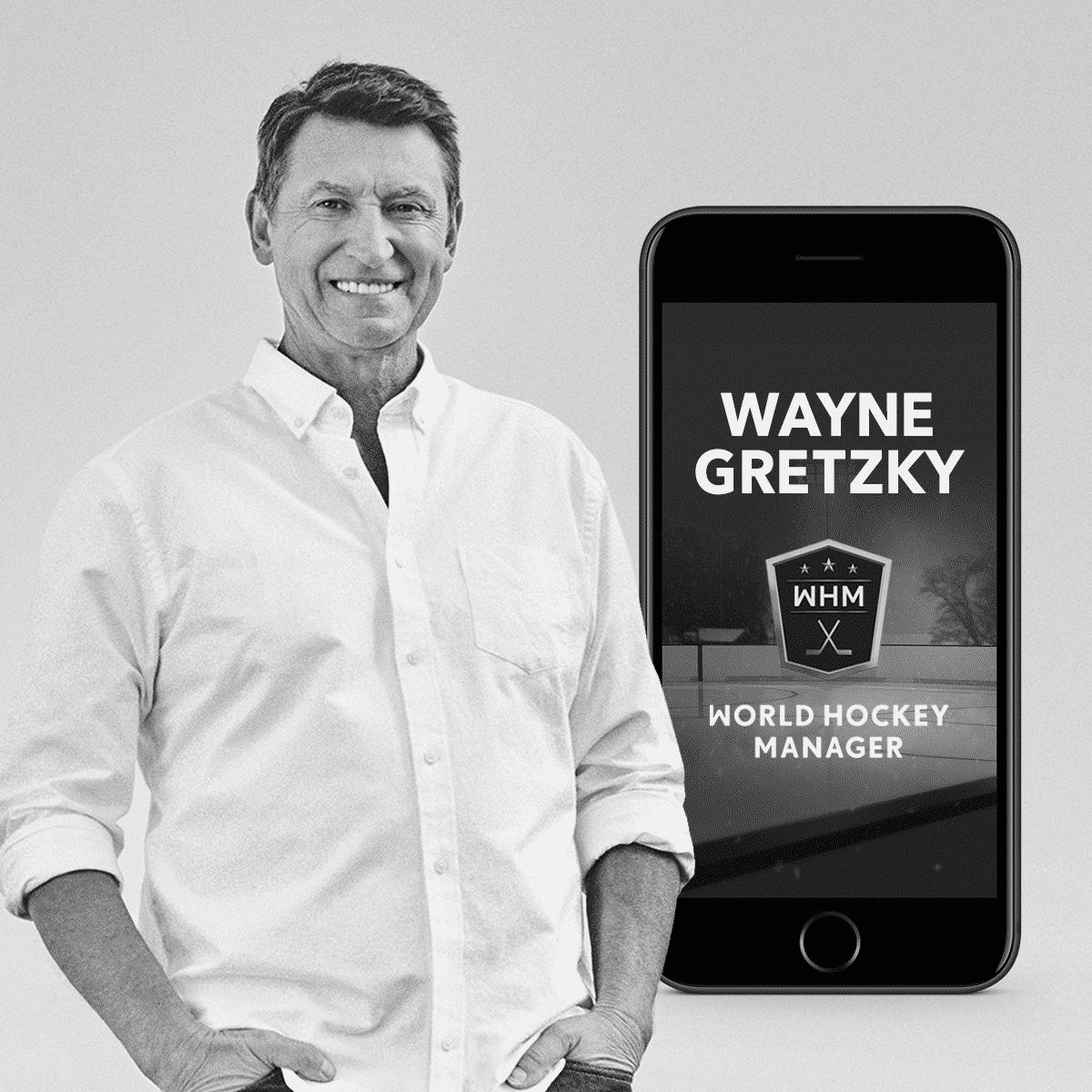 Wayne Gretzky blir ambassadör för svenska Gold Town Games