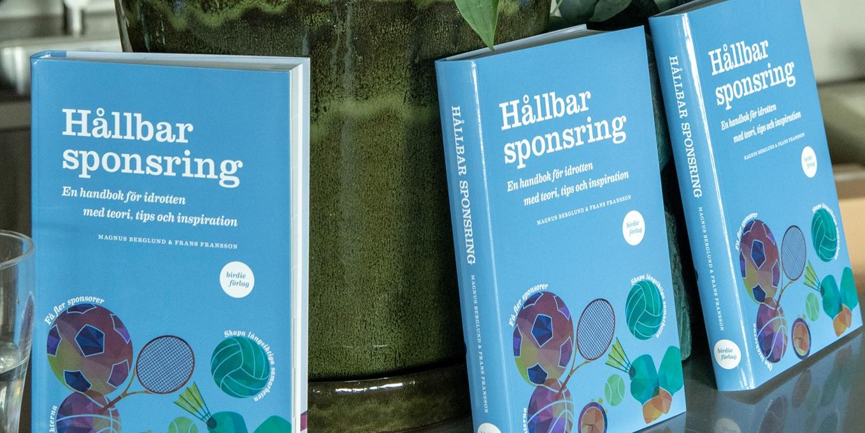 Boken Hållbar sponsring är nominerad till Årets Marknadsföringsbok 2019.